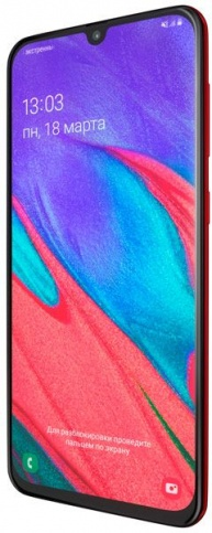 Samsung Galaxy A40 64GB (красный)