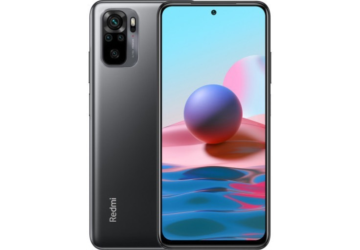 Xiaomi Redmi Note 10 4/128GB (серый)